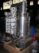 Carr Model HC-18 Solid Bowl Centrifuge. 18'' Titanium/316 stainless steel. Hi-Concentrate model.