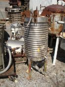 Niagara Pressure Leaf Filter, Model 18-16-D, Stainless Steel construction