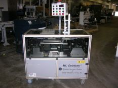 Gemel Mr. Deblister product recovery system capable of speeds up to 4800 cards per hour. Has a card