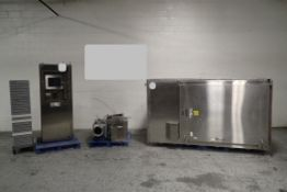 Gruenberg Oven Co. Cart Oven, Model T18HX74.35AA. Stainless Steel, Approximate 74 cubic feet