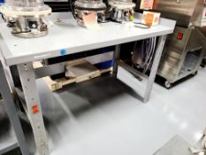 Steel Work Bench with Guards