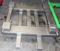 Equipment Lift Platform for Forklift UPSIDE DOWN RETAKE PIX