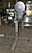 3503857 ID Technology 250 Labeler w Zebra 110PAX4 Print Head