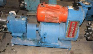 3503758 Reeves 71/2 HP Motor w Reliance Pump w Metal Base