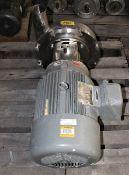 3418988 Waukesha Cherry Burrel mdl 9634059525 Pump w Sterling ED154PHA 15 hp Motor