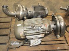 Waukesha Burrell Pump w 15 hp Motor & Waukesha Burrell Pump w 15 hp Motor