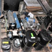 New Refrigerator Compressors, SS Motor, Air Cylinders, more