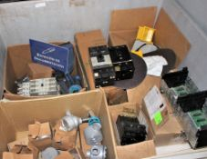 """Cube (4x4x26"""") New Electrical Explosion Proof Components, Breakers, Switches, etc."""