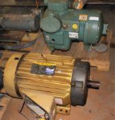 3503637 Carrier A-1 Compressor 06DX5376BC3600 & Baldor 30HP Motor
