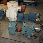 3485016 Waukesha Cherry Burrell 220112 Pump w Waukesha Gear w Baldor 10HP Motor w Metal Base