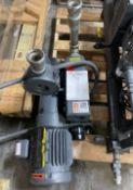 Busch Vacuum Pump, Model RA0025F, 1.5 HP