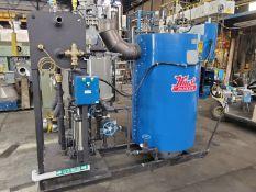 15 HP Hurst Boiler, Model 4VT-G-15-250, 250#