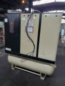 20 HP Ingersoll Rand Air Compressor, Model IRN20H-CC