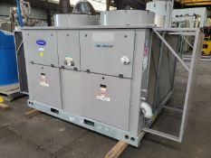 30 Ton Carrier Chiller, Air Cooled, Model 30RAP0405