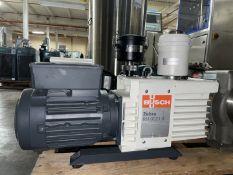Busch Vacuum Pump, Model RH0021B, .9 KW