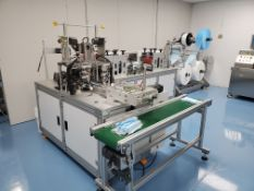 NEW- Mask Manufacturing Machine for ASTM Level 3 masks. Ran for Testing Only - See Auctioneers Note