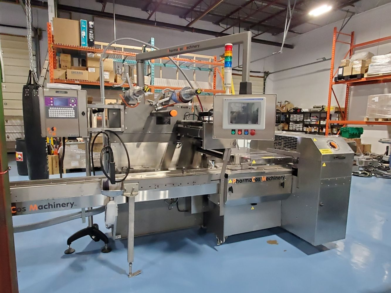 SHORT NOTICE AUCTION - MEDICAL DEVICE PACKAGING EQUIPMENT - GENERAL FORM FILL SEAL MACHINES - BOILER NEW IN 2017 - SS TANKS AND MORE