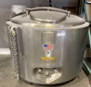 Precision Stainless 200 Gallon Jacketed Tank
