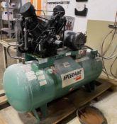 Dayton 120 gallon Speedaire air compressor