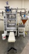 General Packaging Vertical Fill Form and Seal Machine. **SEE AUCTIONEERS NOTE**