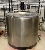 Creamery Package Jacketed Tank