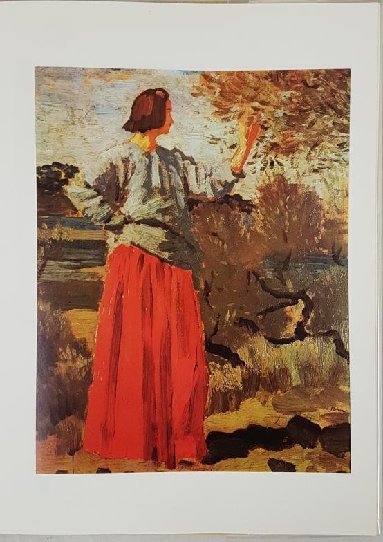 Augustus John, British Painters Series, Beaverbrook 1962; Folio, protected dj; lovely copy of now - Image 3 of 3