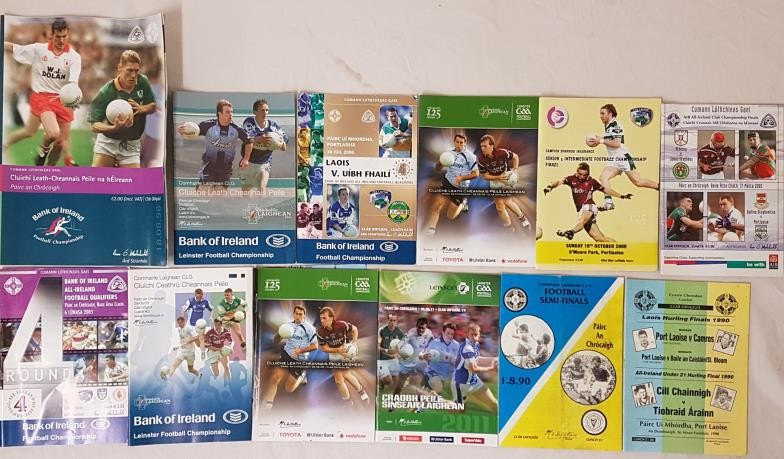 Miscellaneous Inter County Football Programmes (10)