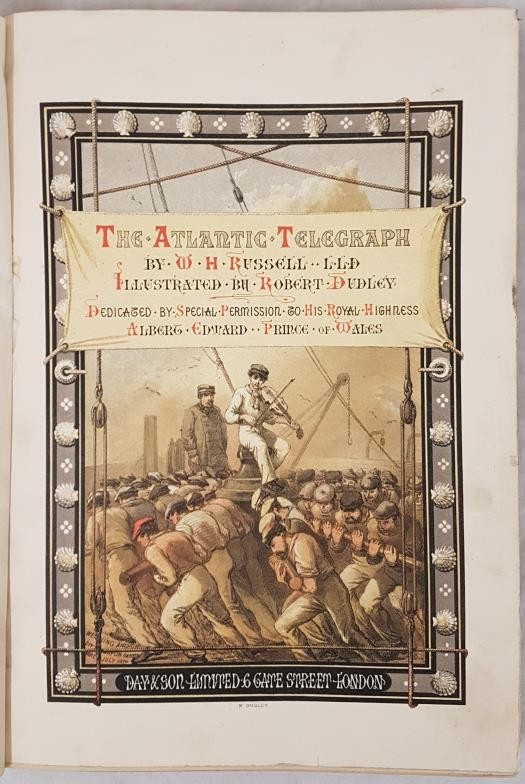 W.H. Russell. The Atlantic Telegraph. 1865. 26 tinted lithographs including 5 South Kerry views of - Image 2 of 5