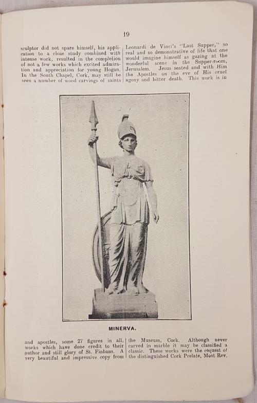 Clarke, John. Memorials of John Hogan. Re Great Irish Sculptor. Privately published in 1927, - Image 3 of 3