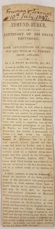Edmund Burke. A Philosophical Enquiry into the origin of our ideas of the Sublime and Beautiful. - Image 4 of 4
