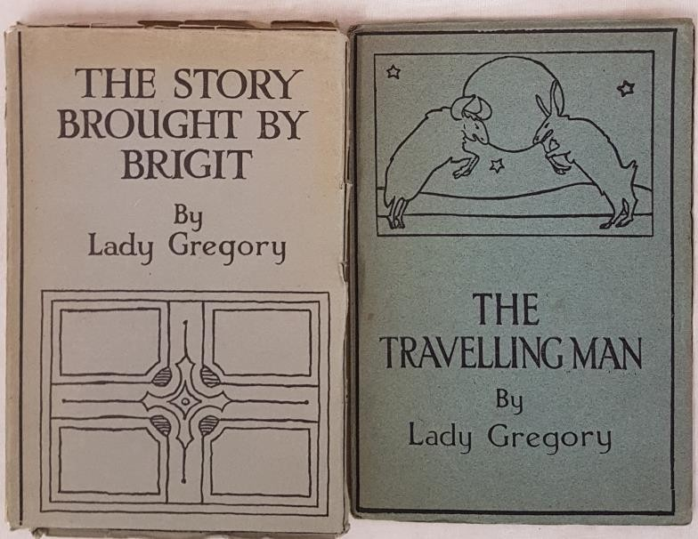 Lady Gregory. The Story Brought by Bright. 1924. 1st edit. Fine and Lady Gregory. The Travelling