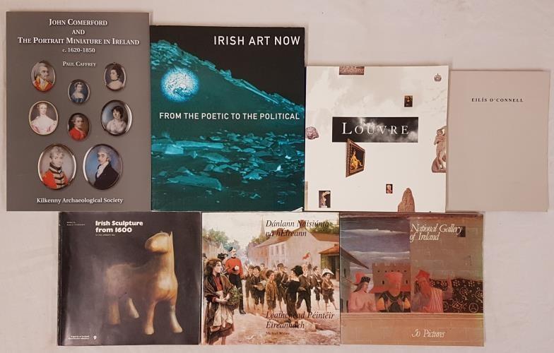 Irish Art Now, 2000; John Comerford and the Portrait Miniature in Ireland, c1620-1850, KAS, 1999;