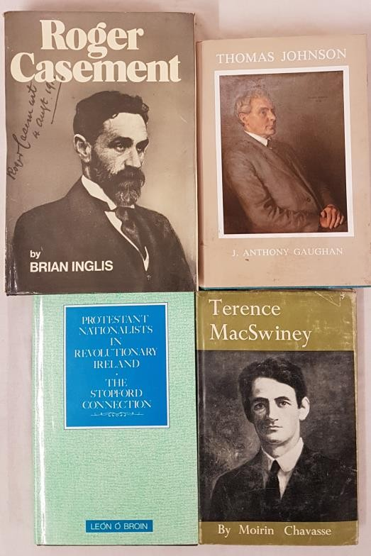 Terence MacSwiney by Chavasse1961; Roger Casement by Inglis. 1973; Thomas Johnson. 1872-1963 First