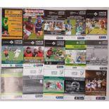 G.A.A. Leinster Club Hurling Match Programmes - 2004, 2005, 2008, 2009, 2012 (2), 2013 (2), 2014 (