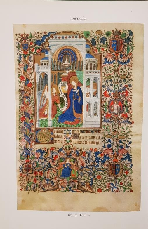 Sothebys of London. Hard back catalogue re sale of Thirty-Eight manuscripts from the 8th to - Image 4 of 5