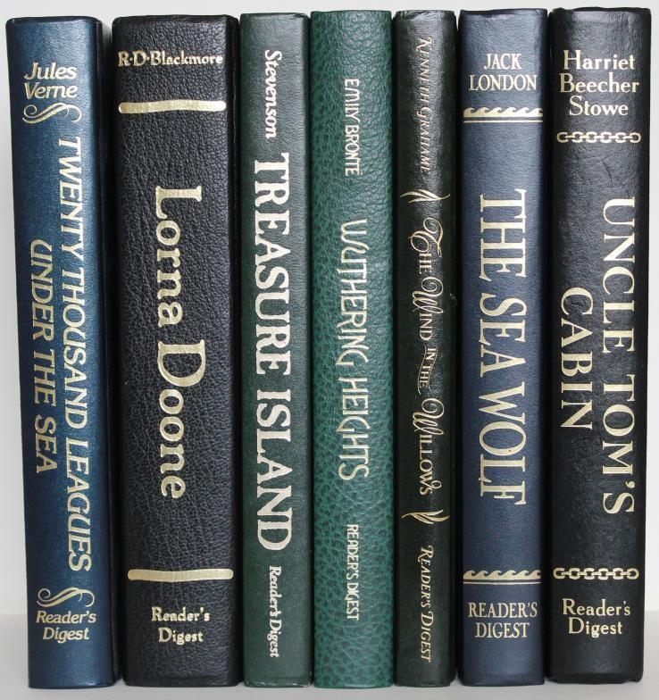 Literary Classics – box includes 21 penguin classics and 7 hardback Readers Classics
