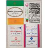 Connaught Senior Football Final Programmes - 1976-1984 (4)