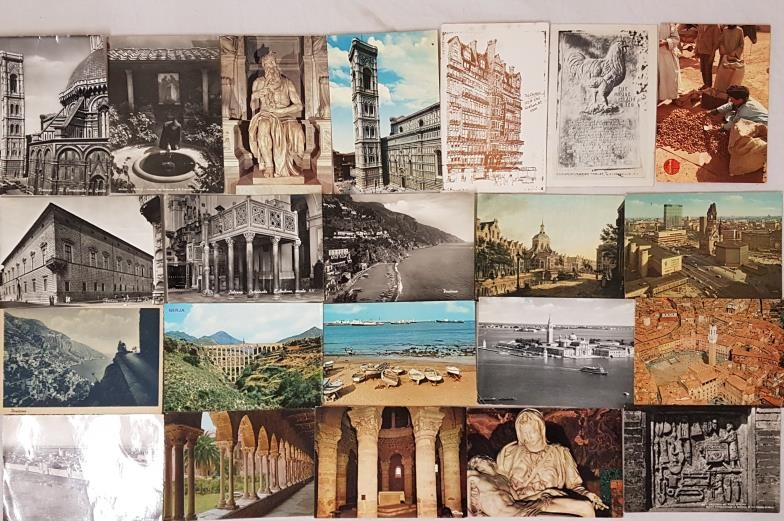 Maurice Craig architectural historian. Collection of approximately 125 postcards addressed to