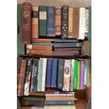 Two boxes of books. Biography, Irish interest, natural history, early books etc.
