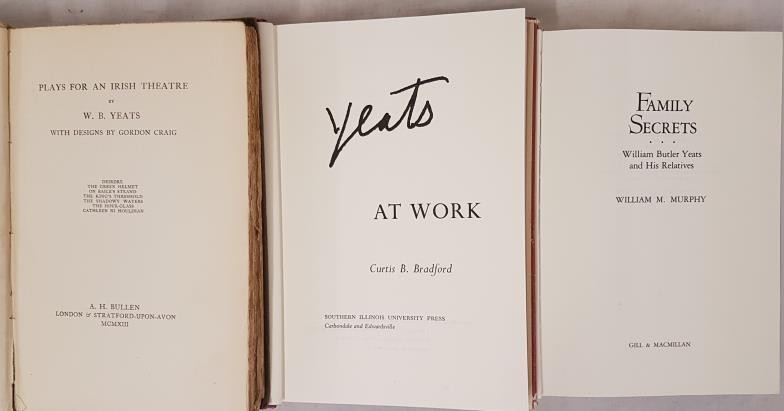Plays for an Irish Theatre, W B Yeats, A H Bullen, 1913, First Edition, H/B, Good Condition; Yeats - Image 2 of 2