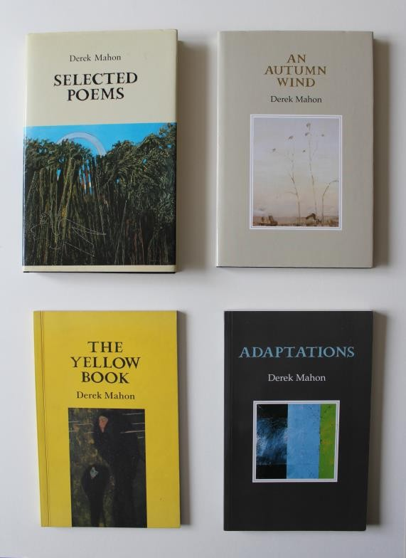 Derek Mahon: first editions; Lives, The Snow Party, The Hunt by Night, Selected Poems, New - Image 2 of 2