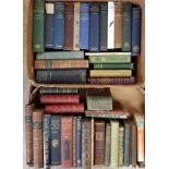 Two boxes mostly Antiquarian books. Archaeology, travel, literary, science, biography etc. Many nice