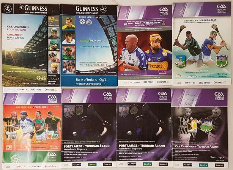 All Ireland Senior Hurling Semi Final Programmes - 2007-2010 (8)