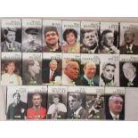 Complete Set Great Irish Biographies, Irish Independent, 1990 (20)