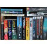 Crime Interest – box of International & Irish crime fiction including Stig Larsson, Robert