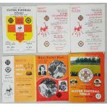 Ulster Senior Football Final and Semi Final Programmes - 1978-1984 (6)