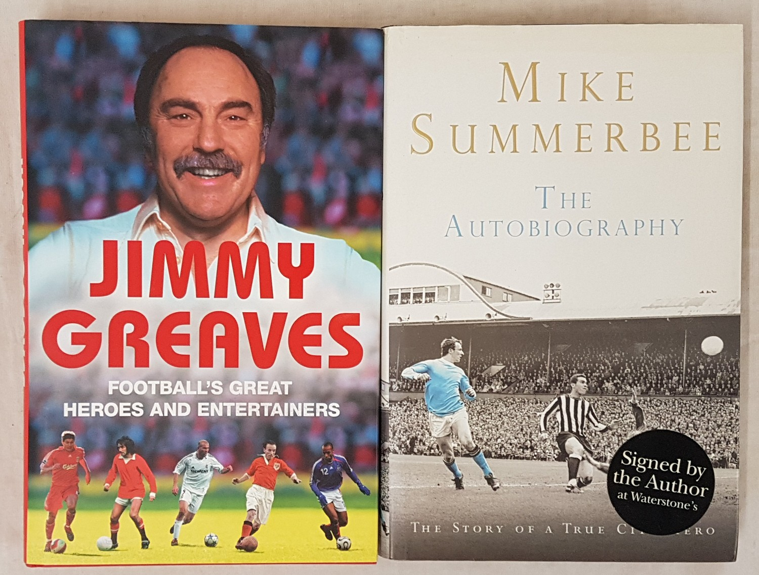 Football's Great Heroes and Entertainers, Jimmy Greaves, 1st Edition, 1st Printing, 2007, Hodder &
