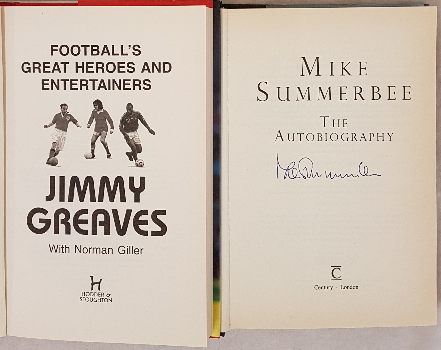 Football's Great Heroes and Entertainers, Jimmy Greaves, 1st Edition, 1st Printing, 2007, Hodder & - Image 2 of 3