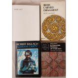 Irish Art. Robert Ballagh by Ciaran Carty. 1986 in dj; A Concise History of Irish Art by Bruce