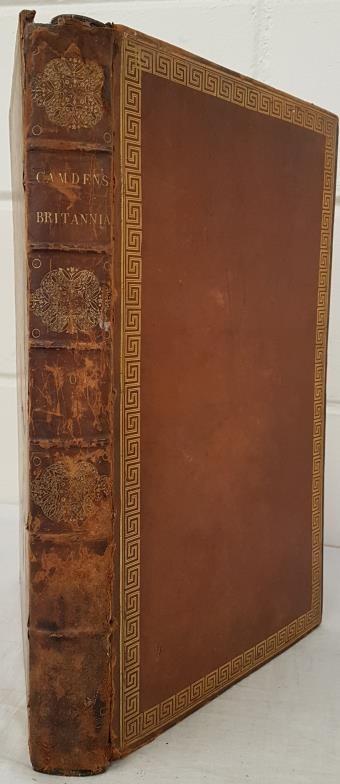 Richard Gough. Camden's Britannia. 1806. England, Scotland & Ireland. Large folio. 300 pages